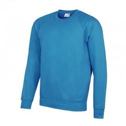 Plain Academy raglan sweatshirt AWDis 280 GSM