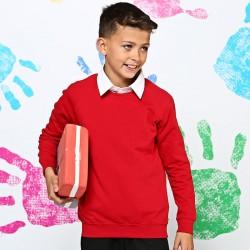 Plain Kids Academy raglan sweatshirt AWDis 280 GSM