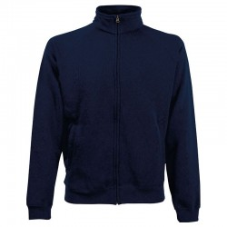 Plain Jacket Sweat Fruit of the Loom 280 GSM