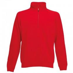 Plain Sweatshirt Zip Neck Fruit Of The Loom 280 GSM