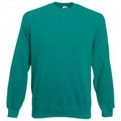 Plain Sweatshirt Raglan Fruit of the Loom 280 GSM