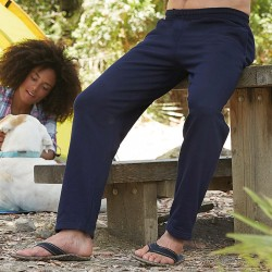 Plain Jog Pants Open Hem Fruit of the Loom 280 GSM