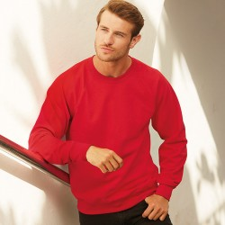 LIGHTWEIGHT RAGLAN SWEATSHIRT Fruit of the Loom 240 GSM