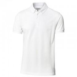 Plain Columbia button down polo shirt Nimbus -Cph- 250 GSM