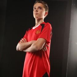 Plain t-shirt  Manchestert Official Football Merchandise 140gsm