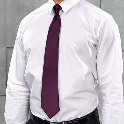 Plain Tie 'Colours' Satin Clip Premier