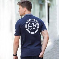 Plain Polo Shirt Men Contrast Fashion Jersey Skinnifit 180 GSM