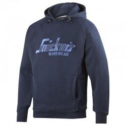 Plain FlexiWork camo hoodie Snickers 330 GSM