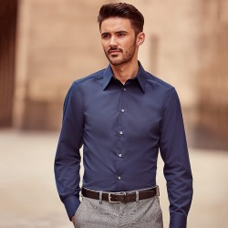 Plain Tencel Fitted Shirt Collection Russell 136 GSM