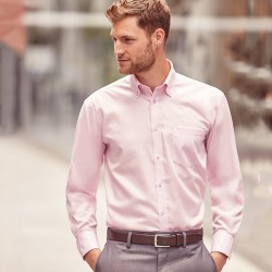 Plain Non-Iron Shirt Ultimate Russell 120 GSM