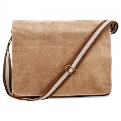 Despatch Bag Desert Canvas Quadra