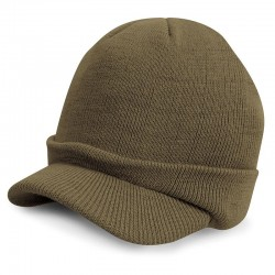Plain Esco army knitted hat Result
