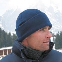 Plain Active fleece ski bob hat Result 200 GSM