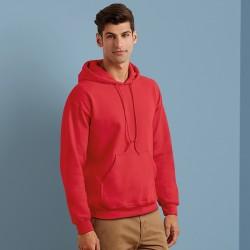 Plain Heavy Blend Hooded Sweatshirt Gildan White 265 gsm Colours 280 gsm
