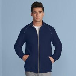 Plain Sweatshirt Premium Full Zip Gildan 288 GSM