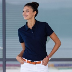 Plain Women's micro-fine piqué polo shirt Henbury 180 GSM