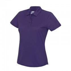 Plain Girlie Cool Polo Shirt AWDis Just Cool 140 gsm