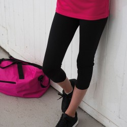 Plain capri pants Girlie cool Just Cool By All We Do Is 280 GSM