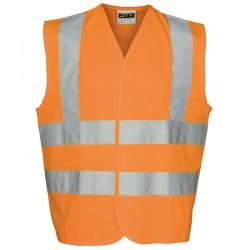 Plain vest High visibility Rty hi viz 130 GSM