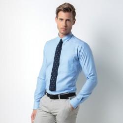 Plain Oxford Shirt Slim Fit Workwear Kustom Kit 135 GSM