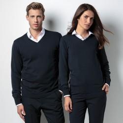 Plain Sweater Ladies Arundel V Neck Kustom Kit