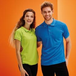 Plain Polo Shirt Coolweave Pique Regatta Hardwear 130 GSM