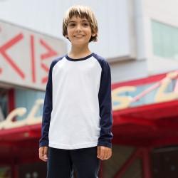 Plain T-Shirt Long Sleeve Skinnifit 140 GSM KIDS