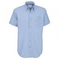 Plain Oxford short sleeve /men B&C 135 GSM