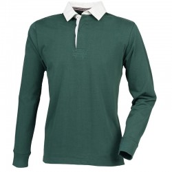 Plain Rugby Shirt Premium Superfit Front Row 300 GSM