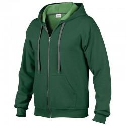 Plain Sweatshirt Heavy Blend™ Vintage Zip Hooded Gildan 280 GSM