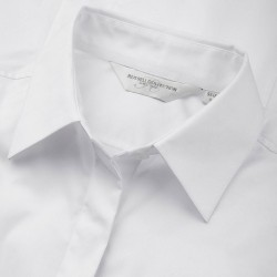 Plain Shirt Short Sleeve Ultimate Stretch Russell Black 130 gsm White 125 GSM