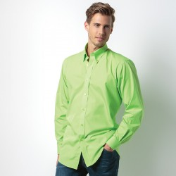 Plain Shirt Long Sleeve Workforce Kustom Kit 115 GSM