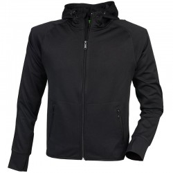 Plain Lightweight running hoodie with reflective tape Tombo 180 GSM