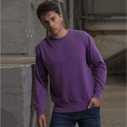 Plain sweatshirt Washed Awdis 280 GSM