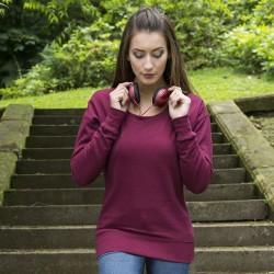 Plain sweatshirt Girlie fashion AWDis 280 GSM