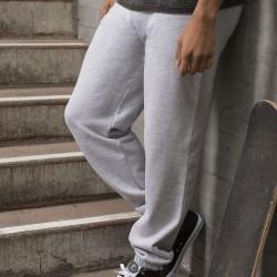 Plain College Cuffed Jog Pants AWDis Just Hoods 280 GSM