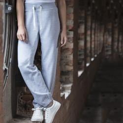 Plain Girlie Cuffed Jog Pants AWDis Just Hoods 280 GSM