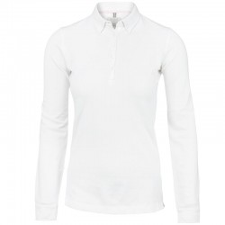 Plain Women's Carlington deluxe long sleeve Nimbus-Cph- 210 GSM