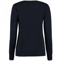 Plain V Neck Cardigan Arundel Cotton Kustom Kit