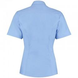 Plain Business Shirt Short Sleeve City Kustom Kit White 120 gsm Cols 125 GSM