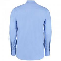 Plain Business Shirt Long Sleeve City Kustom Kit White 120 gsm Cols 125 GSM