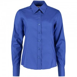 Plain Oxford Shirt Long Sleeve Corporate Kustom Kit 125 GSM
