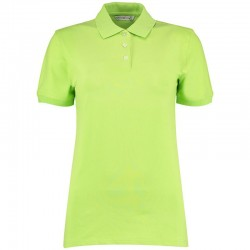 Plain Polo Shirt Kate Ladies Pique Kustom Kit 210 GSM