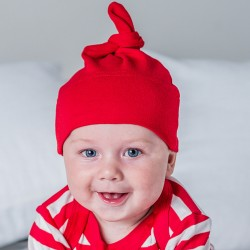 Sustainable & Organic Babywear Baby one-knot hat Kids  Ecological BABYBUGZ brand wear