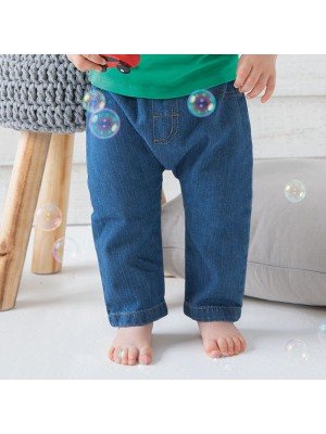 Sustainable & Organic Babywear Baby Rocks denim trousers Kids  Ecological BABYBUGZ brand wear