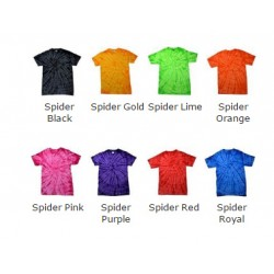 Plain spider Kids tonal Tie-Dye 5.3oz GSM