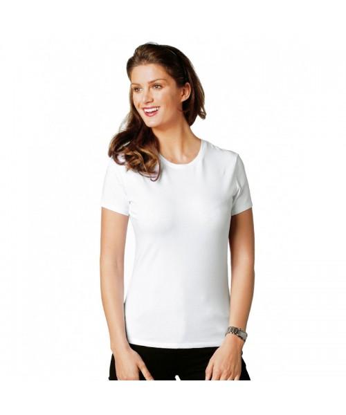 A Stars & Stripes Ladies skinny jersey t shirt - Stars & Stripes