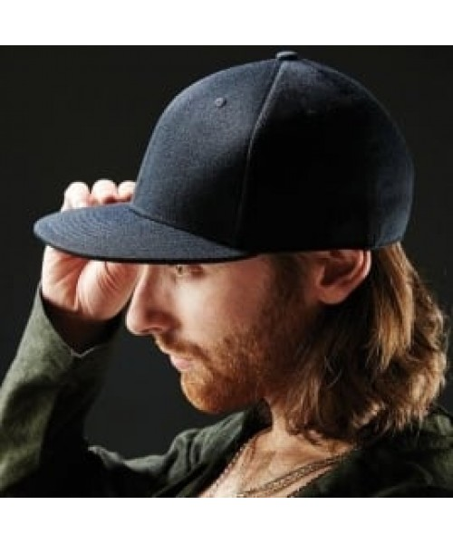 Peak cap Signature fitted flat Beechfield Headwear