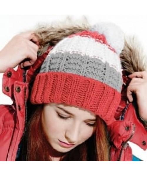 Beanie Chamonix combi Beechfield Headwear