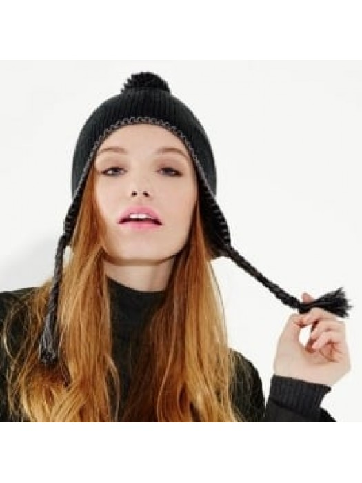 Hat Classic Tassel Peru Beechfield Headwear
